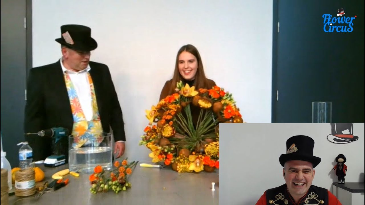 Autumn Flower Designs 2020 by Tiffany van Lenten | Flower Circus, 13+