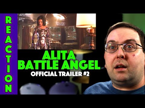 REACTION! Alita: Battle Angel Trailer #2 - Michelle Rodriguez Movie 2018