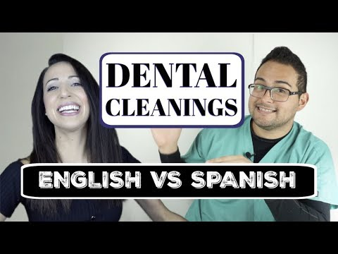 Helpful Dental Phrases in English and Spanish