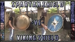 Who's Shield was Deadlier Viking or Spartan? Viewer request!
