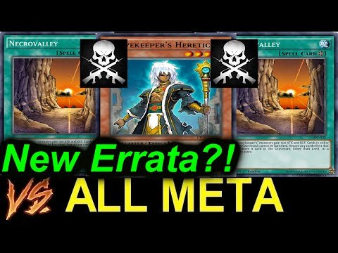 2017 Gravekeeper VS ALL META! New BROKEN ERRATA?! R.I.P. PALEO