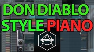 How to make piano for the drop like Don Diablo - FL Studio Tutorial