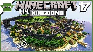 Minecraft 1.14 Medieval Island Kingdom Lets Build S2E17 - Military