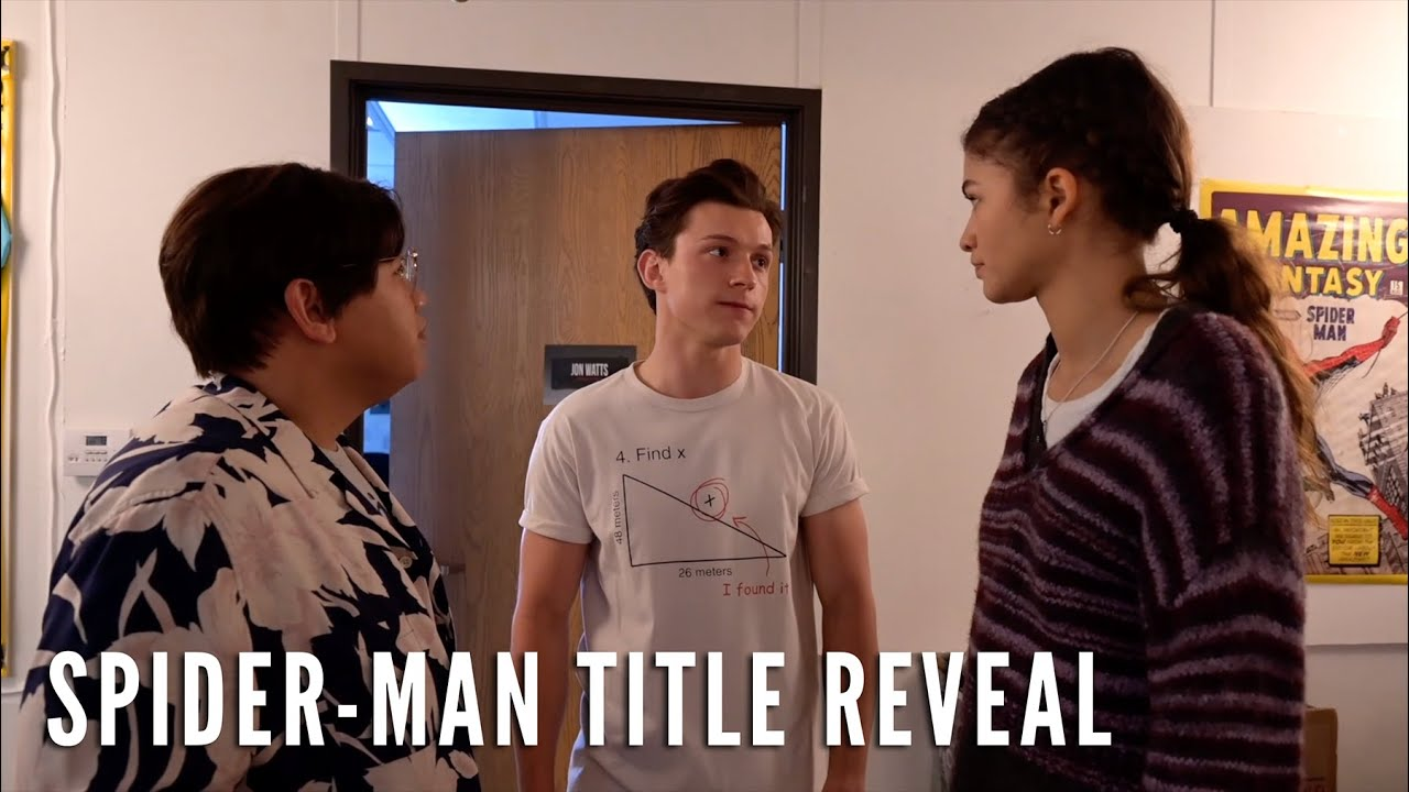 The New Spider-Man Title is…