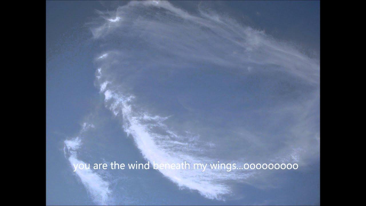 The Wind Beneath My Wings W Lyrics Youtube
