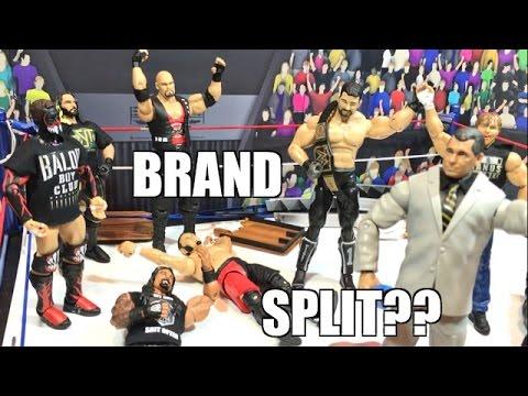 GTS WRESTLING: Brand Split? WWE Mattel Figure Matches Animation PPV Event!