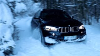 "BMW X6 M50d  ""snow edition"""