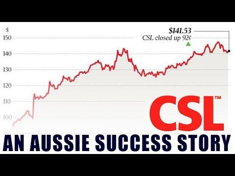CSL: An Aussie Success Story