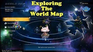 Kingdom Hearts III Exploring the World Map