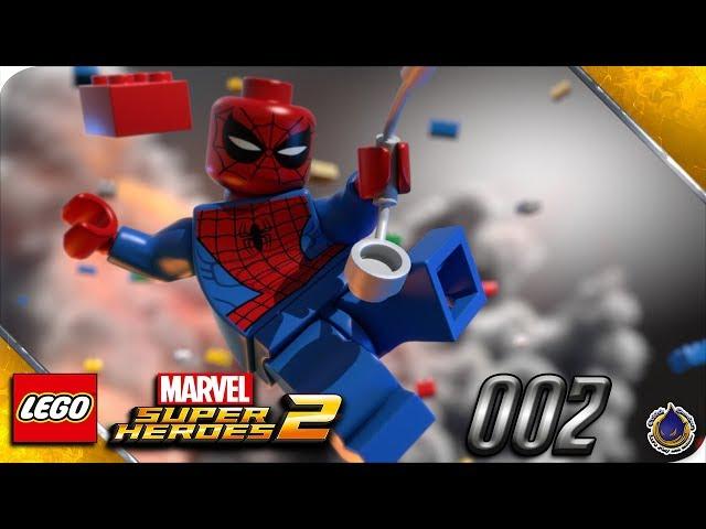 Let's Play LEGO MARVEL SUPERHEROES 2 💥 [002] Kang, der Eroberer