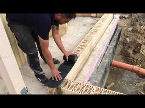 Ausmauern Des Holzstanderwerkes Youtube