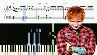 Ed Sheeran - Galway Girl - Piano Tutorial + SHEETS