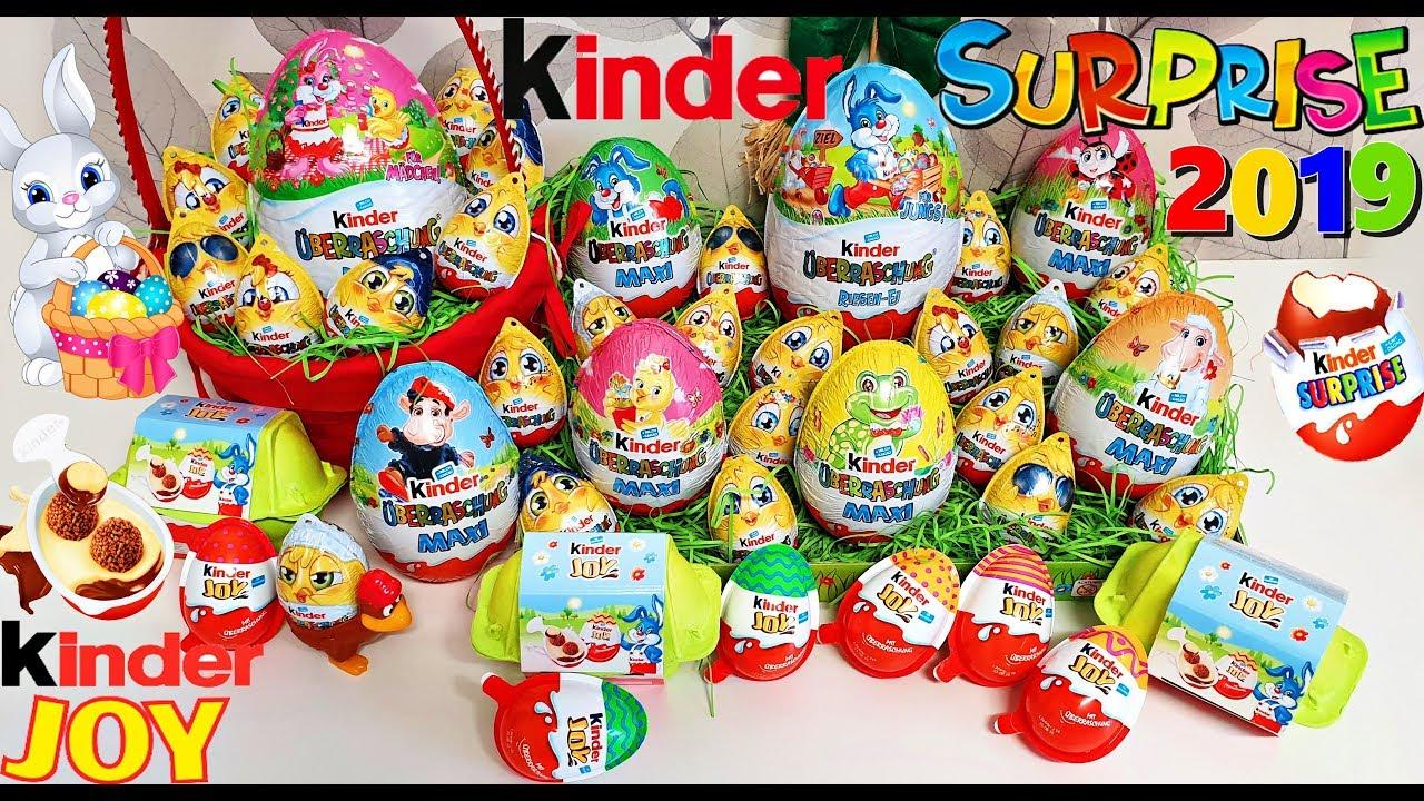 Big kinder surprise egg easter edition! Kinder joy! Disney.