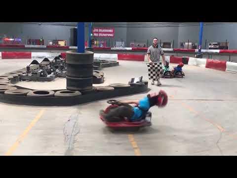 Kids Spinning Go-kart initial D style