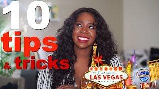 LAS VEGAS TIPS & TRICKS #1 | WHERE TO STAY? $20 trick! free drinks!