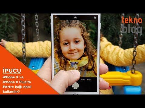 IPhone X Ve IPhone 8 Plus'ta Portre Işığı özelliği Nedir, Nasıl Kullanılır?