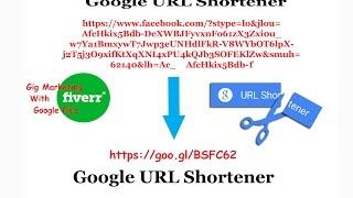 Url Shorten Google Shorte Youtube Seo - Gonzagasports