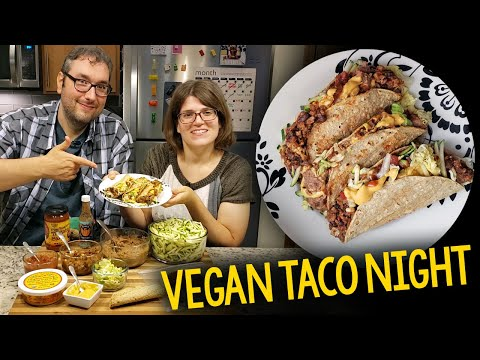 Vegan Taco Night: Oil-Free Crispy Baked Taco Shell Recipe & Topping Ideas