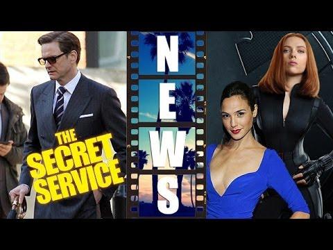 The Secret Service 2014, Scarlett Johansson Black Widow, Gal Gadot Wonder Woman - Beyond The Trailer