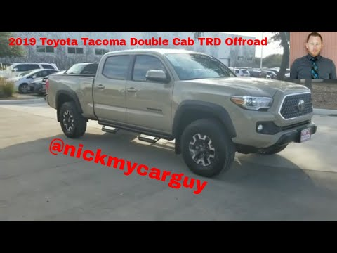 2019 Toyota Tacoma Double Cab TRD Walk Around Video