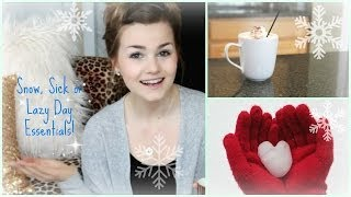 Snow, Lazy or Sick Day Essentials Thumbnail