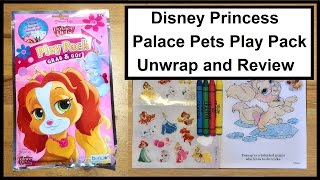 Disney Princess Palace Pets Play Pack Grab & Go! Unwrap and Review