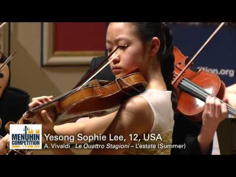 Yesong Sophie Lee 12 USA Junior 1st Prize