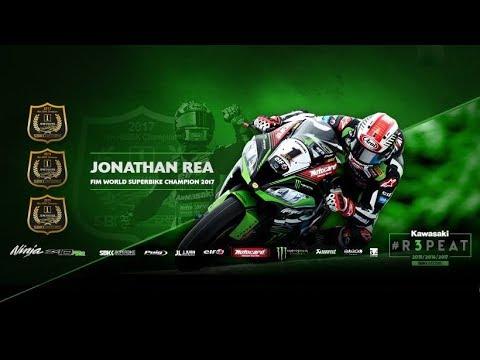 2017 WorldSBK Champion, Jonathan Rea:Exclusive Kawasaki Documentary.