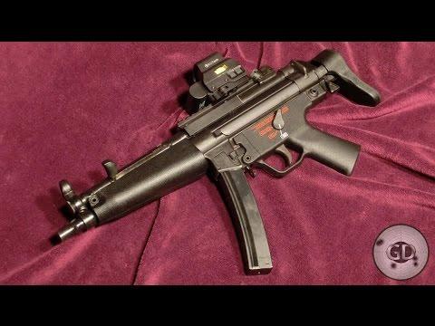 H&K MP5 A5 Submachine Gun in Detail Pictures