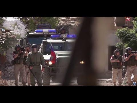 Русские военные в Сирии.  Фильм 1