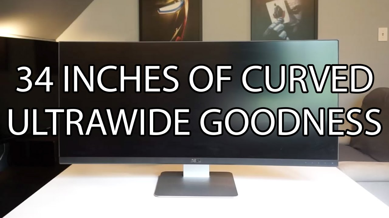 Dell UltraSharp 34 Curved Monitor U3417W Review & Rating ...