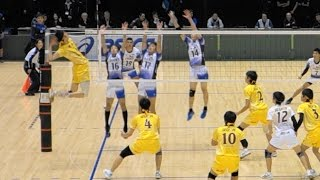 Yuki Ishikawa Emperor's Cup All Japan Volleyball Championship vs JTEKT set2