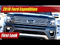 2018 Ford Expedition: First Look