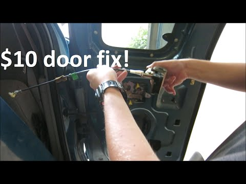 1992-2013 F150 Rear Door Won't Open $10 Fix! (Ford Door Cable Repair Kit)
