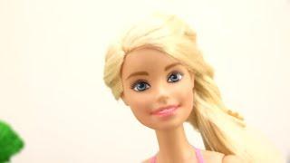 Детское видео: #Барби! Хелло Китти. Олеся и Китти помогают Барби. Академия Волшебства.
