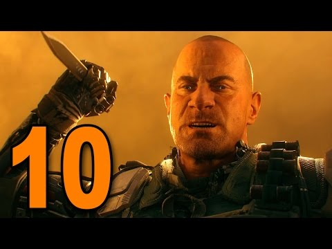 """Black Ops 3 - Mission 10 - """"Lotus Towers"""" (Call of Duty BO3 Singleplayer Campaign Gameplay)"""
