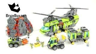 Lego City 60125 Volcano Heavy-Lift Helicopter - Lego Speed Build