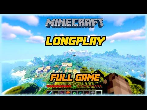 Minecraft - Longplay Full Game Walkthrough (No Commentary)