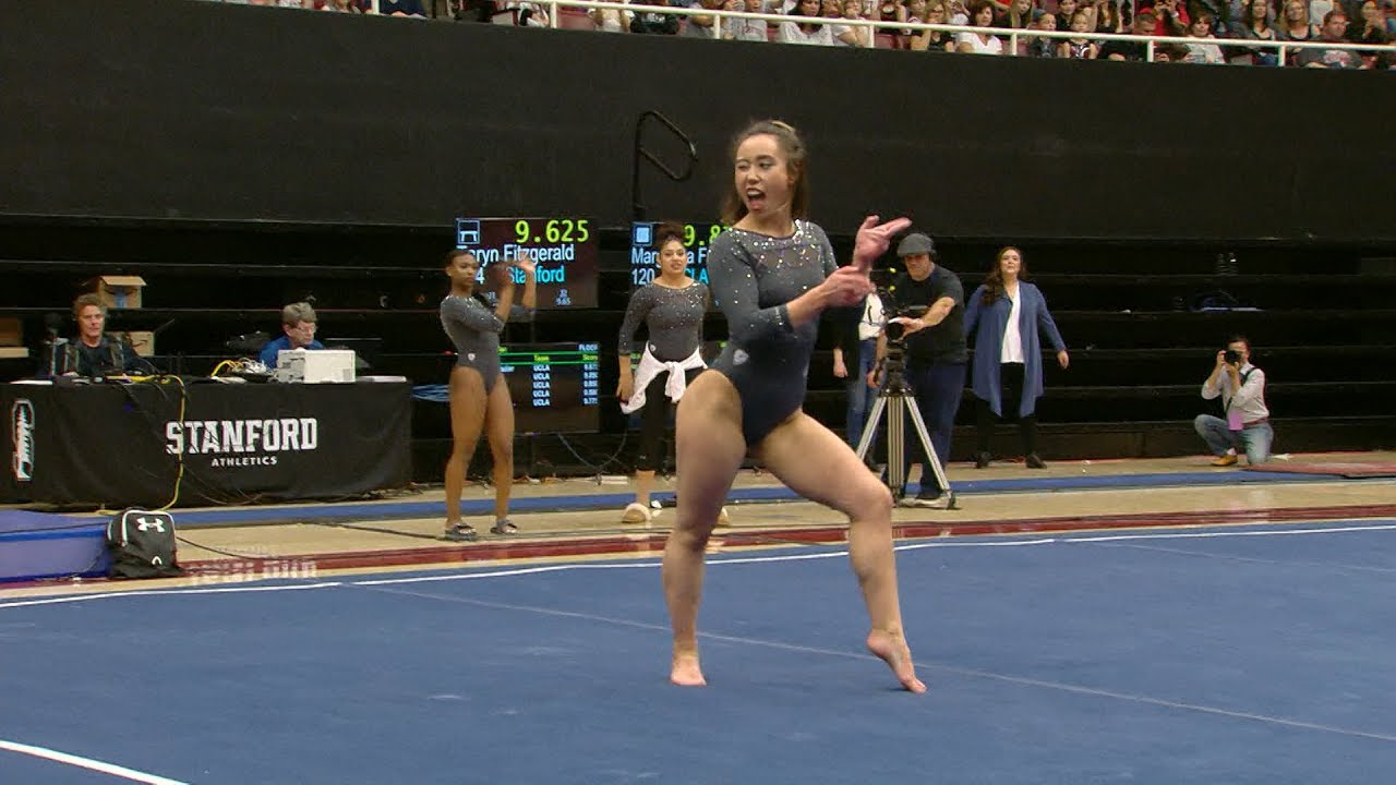 Katelyn Ohashi finishes with another