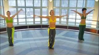 Танцевальная аэробика часть 1.avi(Состоит из 4ёх частей. Динамичная тренировка на все группы мышц. Тренировка проходит в виде ритмичных, иногд..., 2012-04-07T13:03:27.000Z)