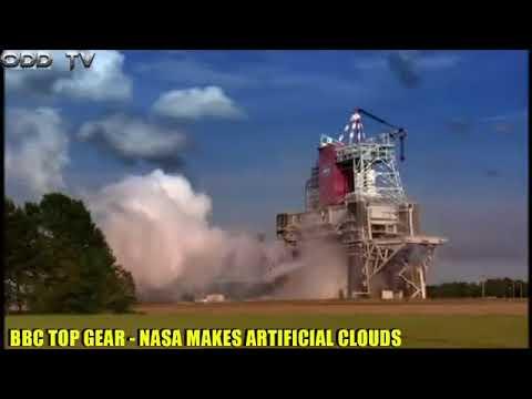 NASA Weather Modification on BBC Top Gear TV show, Cloud Seeding, HARRP (ODDTV)
