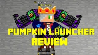 Pumpkin Launcher Review - Pixel Gun 3d | Face Reveal |