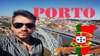 (HD1602) 5 minutes in Porto Oporto, порт, Portugal, Europe   GoPro