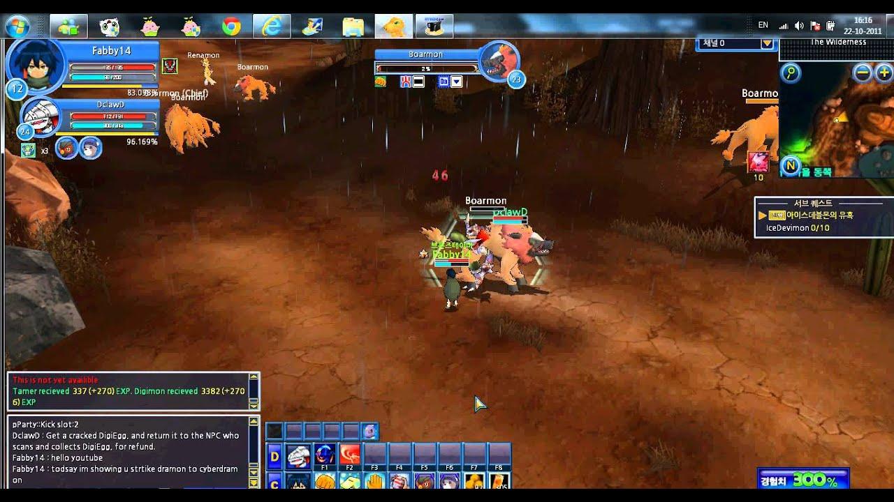 **Digimon Masters Strikedramon to Cyberdramon - YouTube