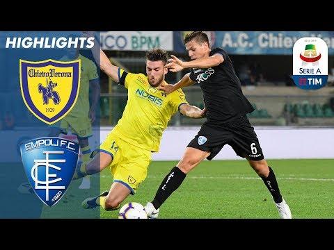 Chievo 0-0 Empoli   Primo punto del campionato per il Chievo   Serie A