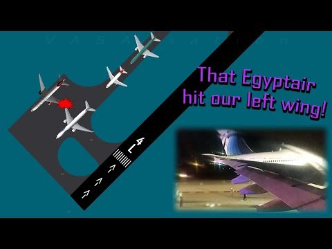 Virgin Atlantic and Egyptair CLIP THEIR WINGS AT THE JFK!