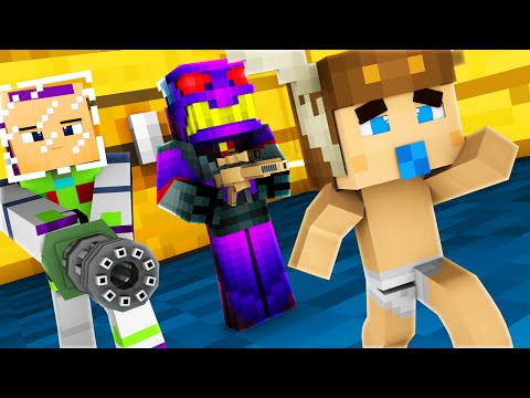Minecraft - WHO'S YOUR DADDY - BABY TOY STORY!