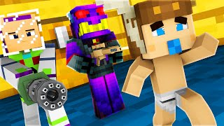 Minecraft - WHO'S YOUR DADDY - BABY BLOWS UP TOY STORY!
