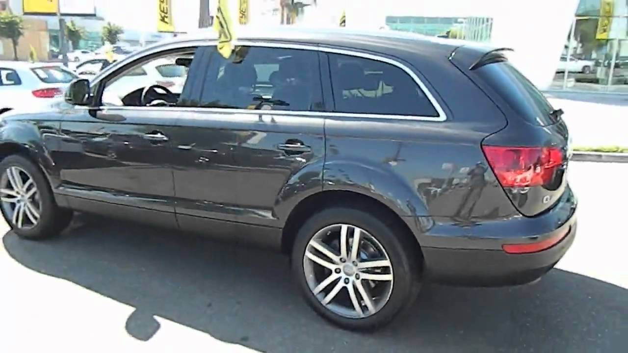 2008 audi q7 3 6 quattro premium sport utility 4d los angeles ca 420591 youtube. Black Bedroom Furniture Sets. Home Design Ideas