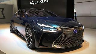 Lexus LF-FC Concept 2015 Videos
